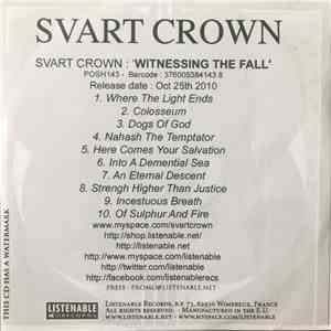 Svart Crown - Witnessing The Fall mp3 flac