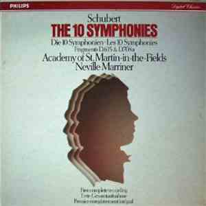 Schubert - Academy Of St. Martin-in-the-Fields, Neville Marriner - The 10 Symphonies mp3 flac