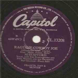 Jo Stafford With The Starlighters And Paul Weston And His Orchestra - Ragtime Cowboy Joe / Red, River Valley mp3 flac