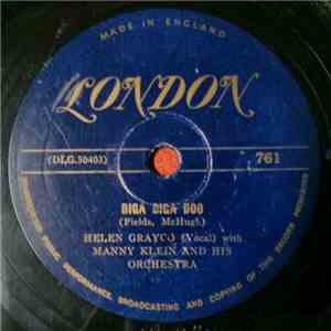 Helen Grayco with Manny Klein And His Orchestra - Diga Diga Doo / Or No Dice mp3 flac